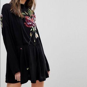 FREE PEOPLE | Gemma Print Floral Long Sleeve Dress